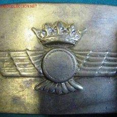 Militaria: CHAPA AVIACIÓN AÑOS 50. Lote 1762447