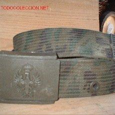 Militaria: CINTURON DE CAMUFLAJE . Lote 26627626