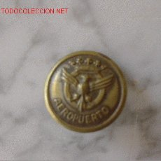 Militaria: AVIACION, BOTON AEROPUERTO BUTTON AIRPORT. Lote 26402065