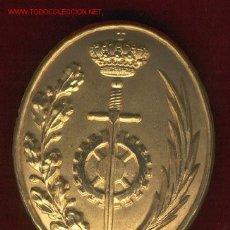 Militaria: HEBILLA FUNCIONARIO DE PRISIONES DORADA. Lote 151717896