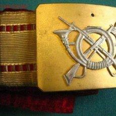 Militaria: CINTURÓN ALFONSO XIII, REPUBLICANIZADO. Lote 2613437