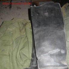 Militaria: BOTAS ALTAS, 26 CMS DE SUELA. Lote 10424737