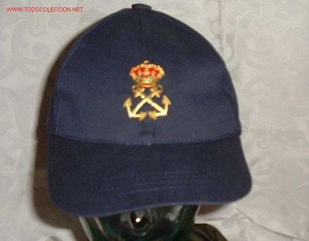 GORRA TIPO BEISBOL PATRON DE YATE C/ESC.BORDADO (Militar - Boinas y Gorras )