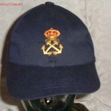 Militaria: GORRA TIPO BEISBOL PATRON DE YATE C/ESC.BORDADO. Lote 194649945