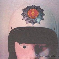 Militaria: RDA - CASCO DE POLICIA (UNIDAD MOTORISTA). Lote 27181125