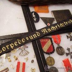 Militaria: CINTA DE LEPANTO DE KRIEGSMARINE.TORPEDERA.ORIGINAL. Lote 26896853