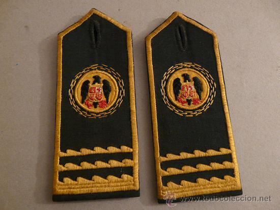 HOMBRERAS CUERPO DE PRISIONES (Militar - Otros relacionados con uniformes )