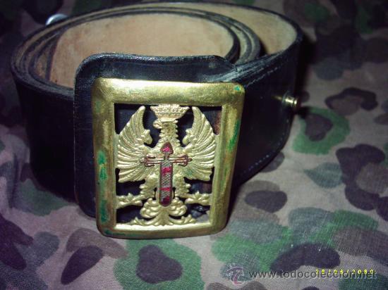 CINTURÓN DE GALA (Militar - Cinturones y Hebillas )