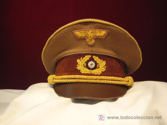 GORRA DE HITLER (Militar - Boinas y Gorras )