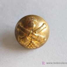 Militaria: BOTON GRANDE DE ARTILLERIA PRIMERA REPUBLICA.. Lote 23470049