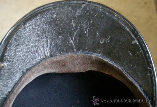 Militaria: Gorra plato de Marina Mercante con corona - Foto 3 - 26608572