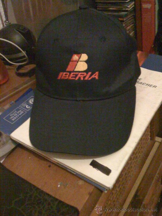 gorra de iberia líneas aéreas. bordada. como nu - Comprar Boinas y ...