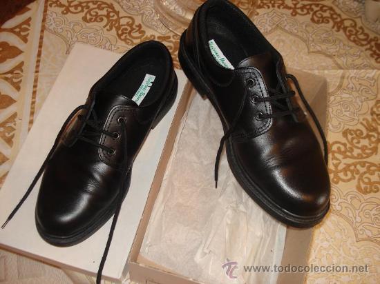 disponible gran ajuste venta caliente real Vigilante jurado seguridad / par de zapato impe - Vendido en ...