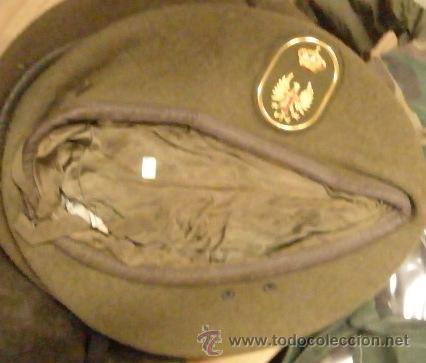 BOINA EJÉRCITO DE TIERRA, TALLA 57 (Militar - Boinas y Gorras )
