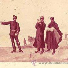 Militaria: DIAPOSITIVA DEL EJERCITO Y ARMADA DE ESPAÑA AÑO 1884 Nº4. Lote 14005052