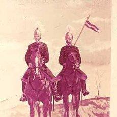 Militaria: DIAPOSITIVA DEL EJERCITO Y ARMADA DE ESPAÑA AÑO 1884 Nº8. Lote 14005108