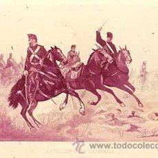 Militaria: DIAPOSITIVA DEL EJERCITO Y ARMADA DE ESPAÑA AÑO 1884 Nº20. Lote 14005166