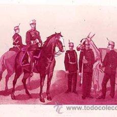 Militaria: DIAPOSITIVA DEL EJERCITO Y ARMADA DE ESPAÑA AÑO 1884 Nº21. Lote 14005178