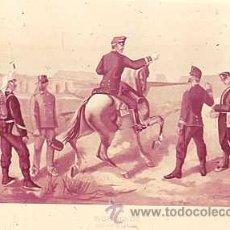 Militaria: DIAPOSITIVA DEL EJERCITO Y ARMADA DE ESPAÑA AÑO 1884 Nº22. Lote 14005188