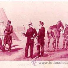 Militaria: DIAPOSITIVA DEL EJERCITO Y ARMADA DE ESPAÑA AÑO 1884 Nº23. Lote 14005196