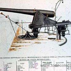 Militaria: DIAPOSITIVA DE MATERIAL DE ARTILLERIA Nº 22. Lote 14005741