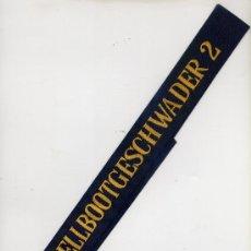 Militaria: CINTA DE LEPANTO MARINA ALEMANA. SCHNELLBOOTGESCHWADER 2. Lote 27243677