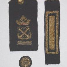 Militaria: LOTE BORDADOS ARMADA ESPAÑOLA. Lote 27364532