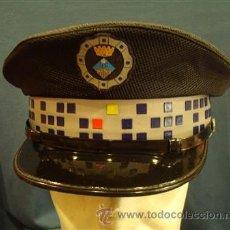Militaria - Gorra de Plato. Policía Local . Catalunya. - 14844948