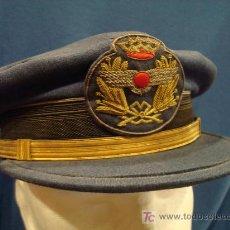 Militaria: ESPAÑA. GORRA DE PLATO. OFICIAL. EJÉRCITO DEL AIRE. ÉPOCA DE FRANCO. . Lote 15235016