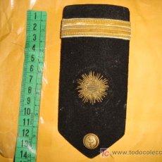 Militaria: HOMBRERA MILITAR DE OFICIAL DE MARINA DE INTENDENCIA, , EN CANUTILLO DE ORO. Lote 15317318