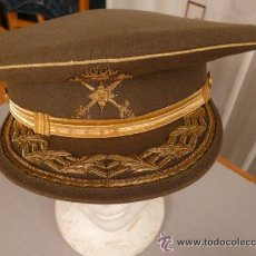Militaria: GORRA DE PLATO GENERAL DE BRIGADA. Lote 27092573