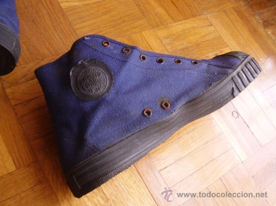Militaria: Zapatillas azules deporte. Ejército del Aire - Foto 2 - 26441200