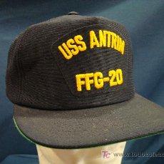 Militaria: ESTADOS UNIDOS. GORRA TIPO BÉISBOL DE LA US NAVY. USS ANTRIM FFG-20. Lote 16224575