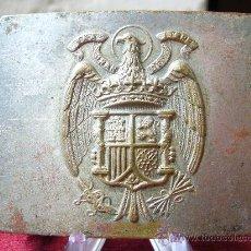 Militaria: HEBILLA DE CINTURÓN DE LA GUARDIA CIVIL - ÉPOCA FRANCO. Lote 26896614