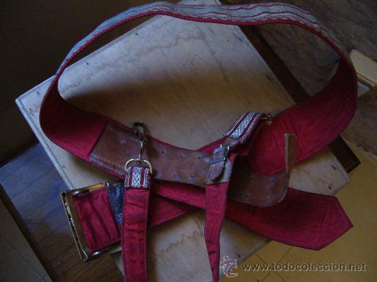 Militaria: Cinturón para oficiales de la cruz roja, época Franco - Foto 3 - 26229783