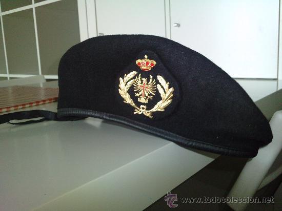 modelos de gran variedad la mejor actitud auténtico Boina negra militar ejercito de tierra - Vendido en Venta ...