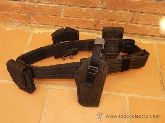 CINTURON COMPLETO CON COMPLEMENTOS (Militar - Cinturones y Hebillas )