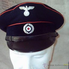 Militaria: GORRA DE FUNCIONARIO DE CORREOS EPOCA III REICH. Lote 26029438
