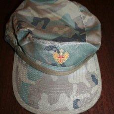 Militaria: GORRA CON VISERA DEL EJERCITO ESPAÑOL - TALLA GRANDE. Lote 25958555