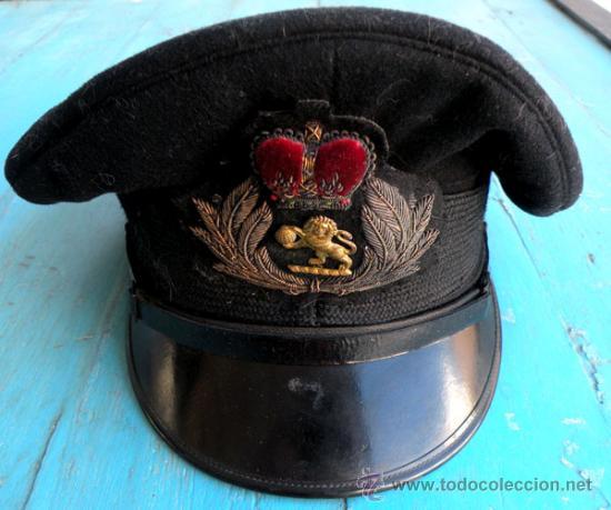 Militaria: ANTIGUA GORRA DE PLATO VISERA INCLINADA DE PILOTO DEL EJERCITO DEL AIRE INGLES - INGLATERRA - RAF - - Foto 7 - 27339266