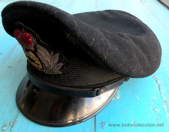 Militaria: ANTIGUA GORRA DE PLATO VISERA INCLINADA DE PILOTO DEL EJERCITO DEL AIRE INGLES - INGLATERRA - RAF - - Foto 8 - 27339266