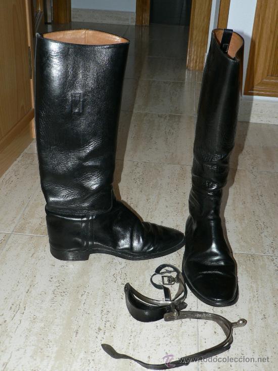 Botas de policia nacional a caballo con espuela comprar for Botas montar a caballo