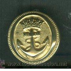 Militaria: BOTON MILITAR DE LA MARINA. GRANDE. Lote 22150744