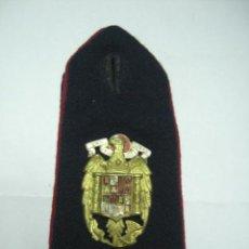Militaria: REGIMIENTO DEL GENERALÍSIMO. HOMBRERA. Lote 23325612