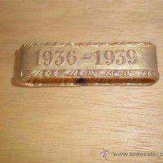 Militaria: HEBILLA BAÑADO EN ORO VIEJO AÑO 1936-39. Lote 21076711