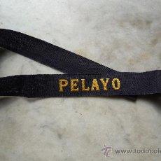 Militaria: (JX-038)CINTA DE LEPANTO DEL ACORAZADO PELAYO (ORIGINAL). Lote 21428792