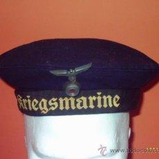 Militaria: GORRA DE MARINERO KRIEGSMARINE. Lote 25649029