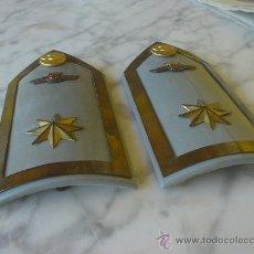 Militaria: AVIACION, PALAS OFICINAS MILITARES AÑOS 40. GRADUACION, COMANDANTE... Lote 27597950