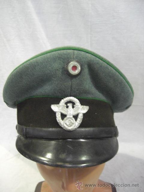 ALEMANIA. GORRA DE POLICÍA. II GUERRA MUNDIAL. (Militar - Boinas y Gorras )