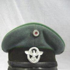 Militaria: ALEMANIA. GORRA DE POLICÍA. II GUERRA MUNDIAL. . Lote 26302798